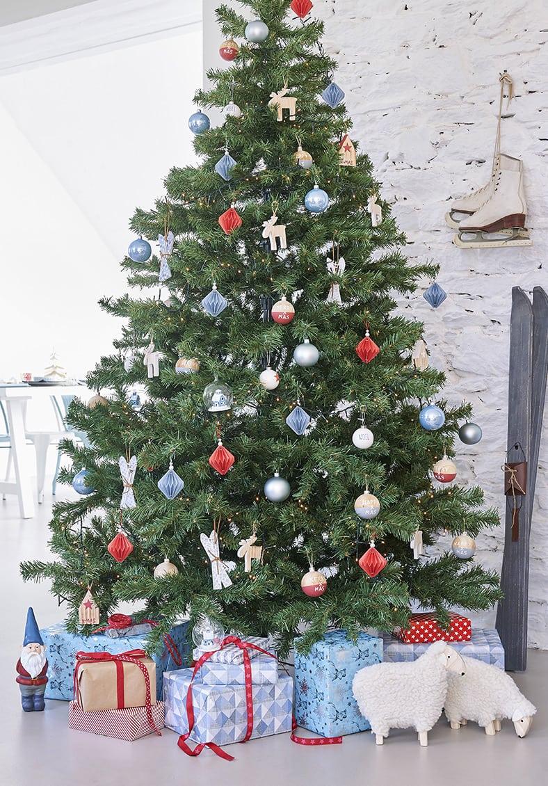 Navidad de estilo nórdico arbol nordico maisons