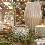 decorar las mesas auxiliares detalles con velas maisons
