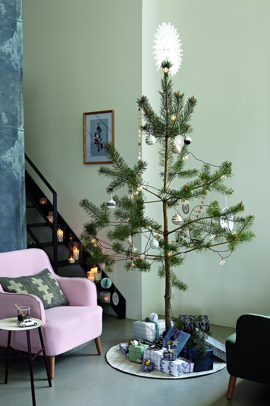 Navidad de estilo nórdico housedoctor arbol nordico