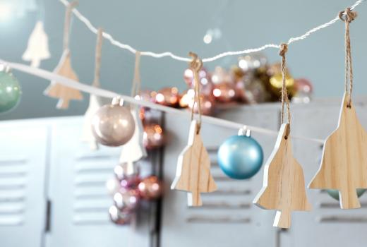 Navidad de estilo nórdico ikea adornos