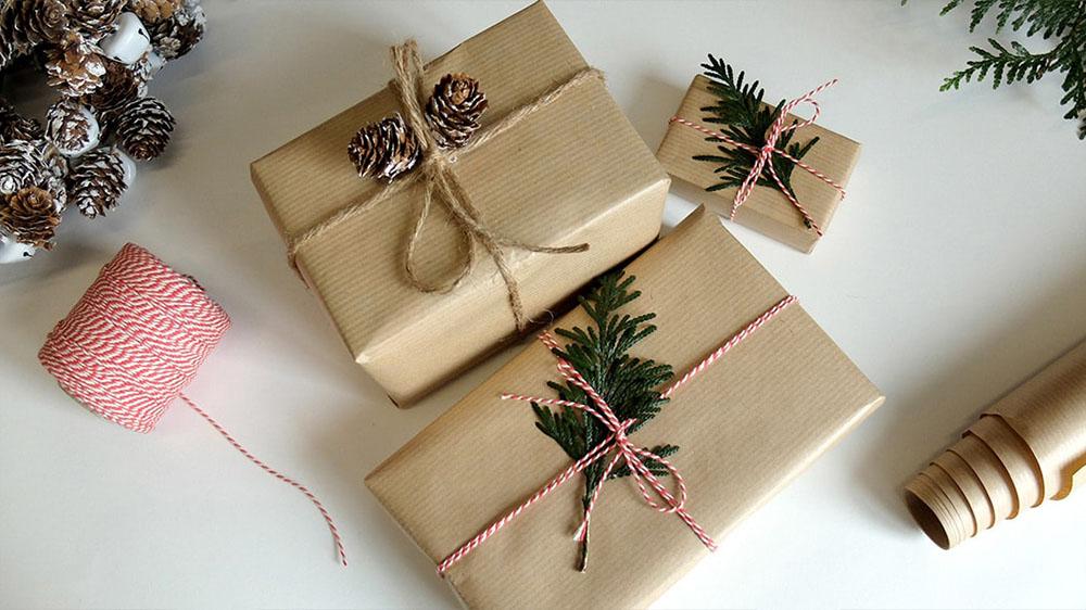 envolver regalos paquete retro maisons