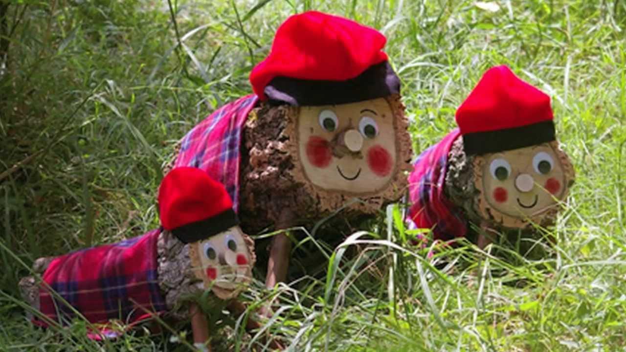 personajes tradicionales de la Navidad 5 - tio de nadal