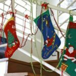 calcetín navideño personalizado - decoración