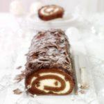 postres de Navidad- Tronco de chocolate