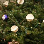 guirnaldas de Navidad con partituras