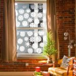 decoraciones para Navidad en las ventanas