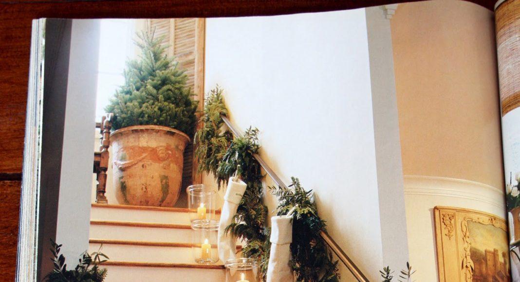Decorar una escalera por navidad