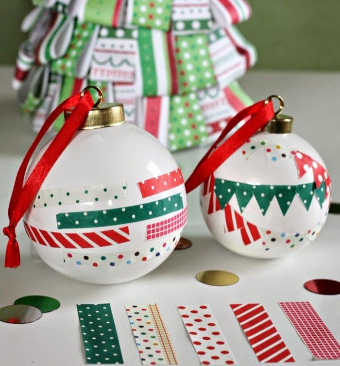 diseño de decoración navideña - bolas