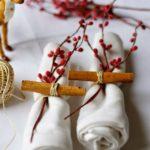 diseño de decoración navideña - servilleteros