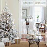 diseño de decoración navideña en blanco