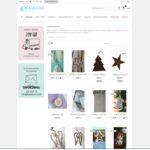decoración de Navidad online - blaubloom