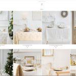 decoración de Navidad online - zara home