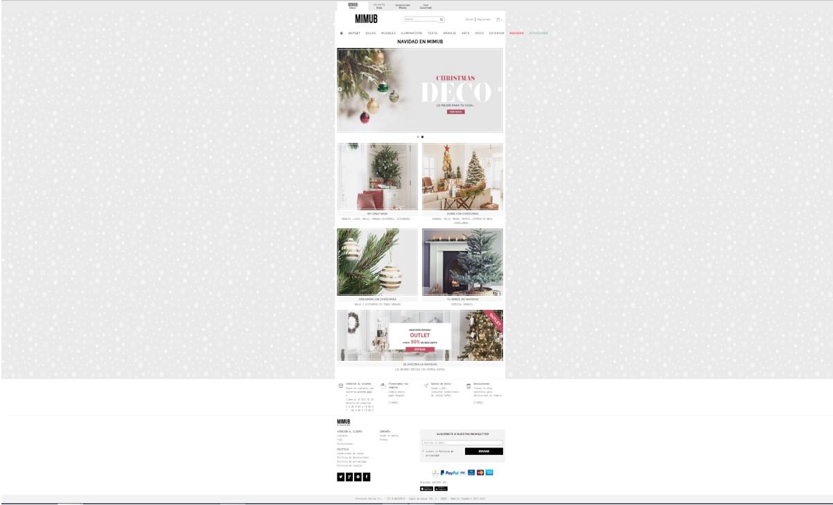 decoración de Navidad online - mimub