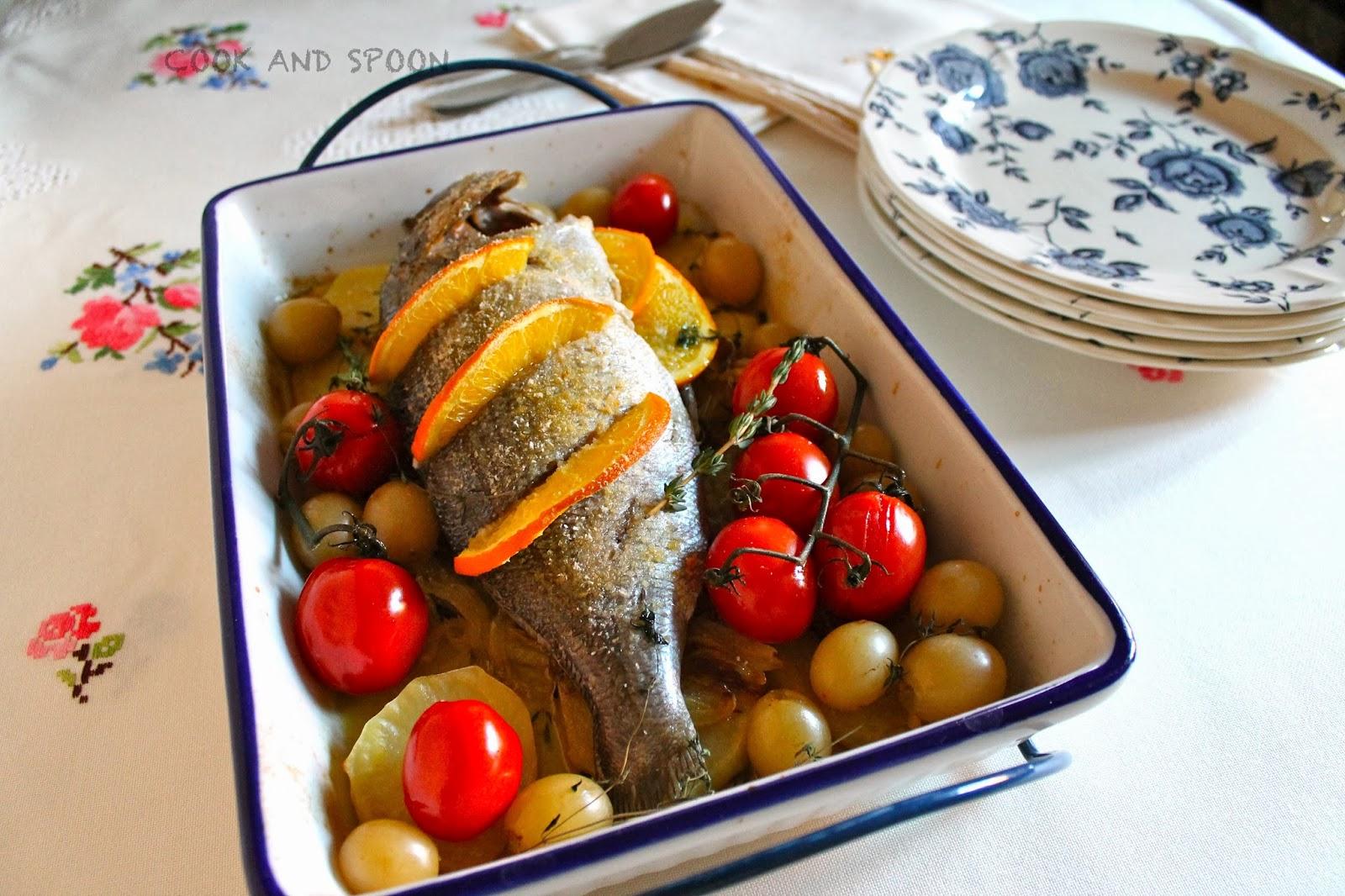 recetas navideñas españolas - besugo