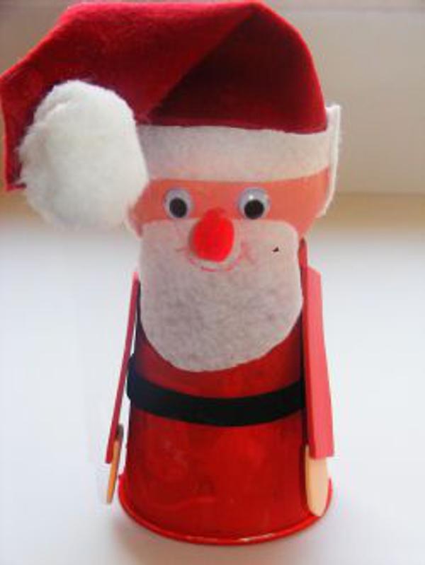 adornos navideños infantiles - Santa Claus