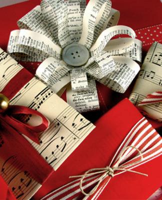 lazos para 8 regalos envolver Navidad originales U5xwq4F