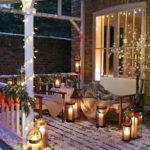 adornos navideños para exteriores - luces