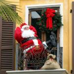 adornos navideños para exteriores - Santa Claus