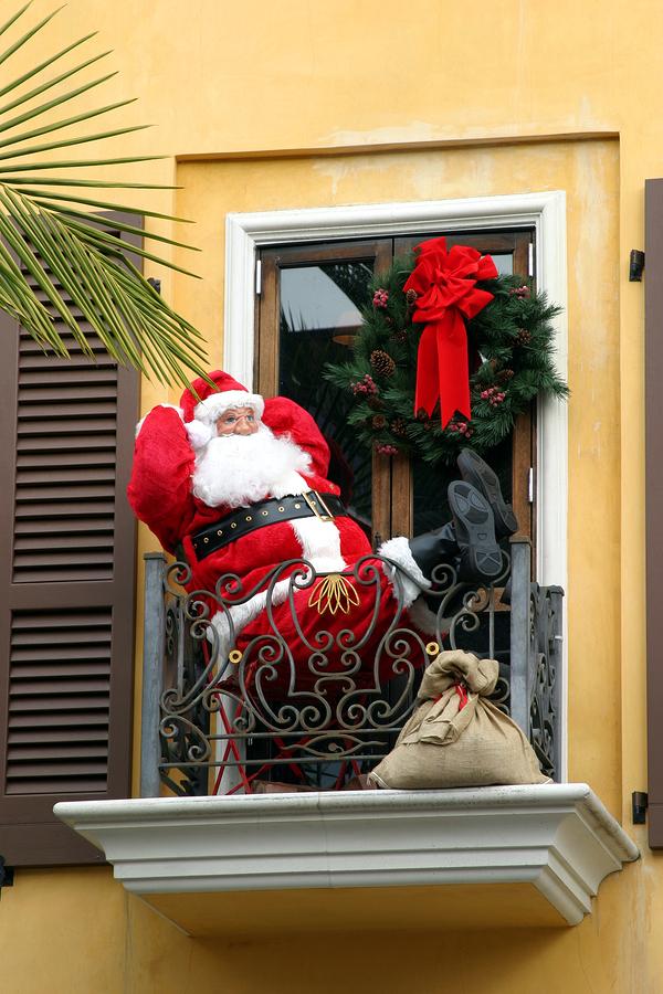 Imagenes Balcones Adornos Navidad.Adornos Navidenos Para Exteriores Y Precauciones Para Que No