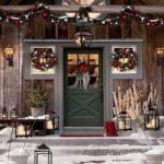adornos navideños para exteriores - coronas