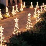 adornos navideños para exteriores - senderos