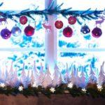 adornos navideños para exteriores - ventanas