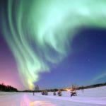 Navidad en Finlandia - Aurora boreal