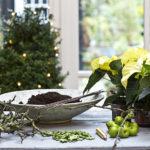arreglos de flores para Navidad - estilo rústico