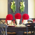 arreglos de flores para Navidad llamativos
