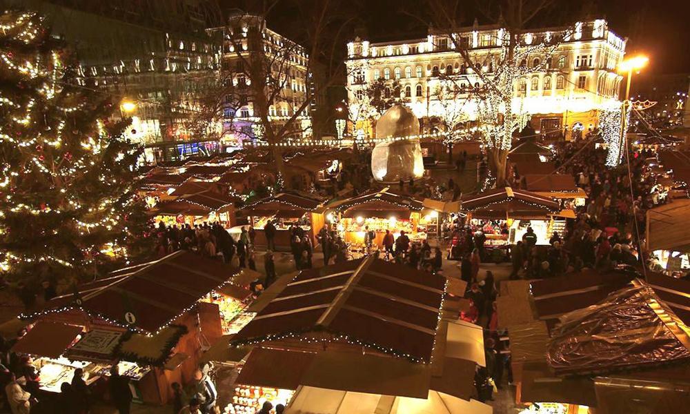 Navidad en Hungría - mercadillos