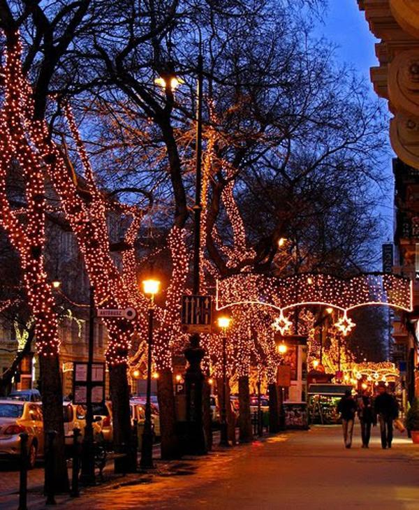 Navidad en Hungría - mákos guba
