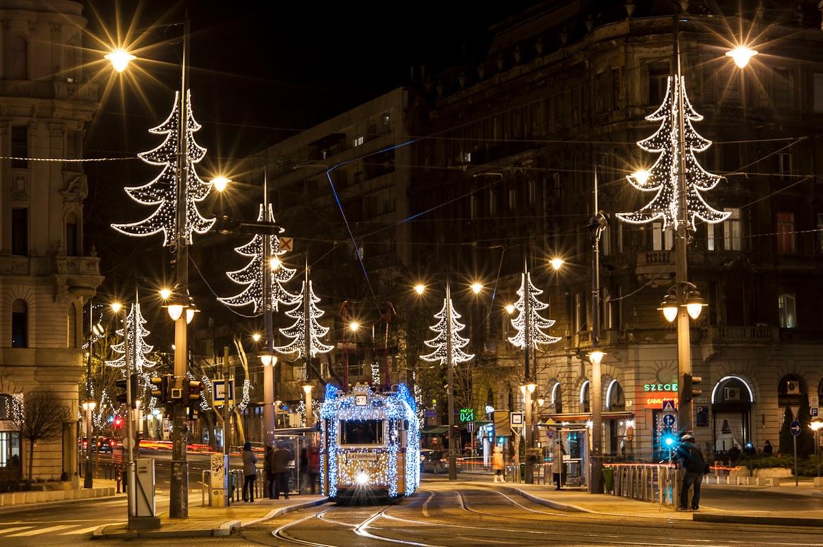 Navidad en Hungría - tranvia
