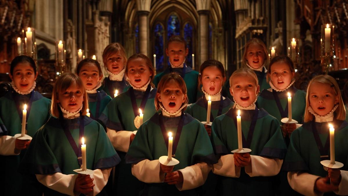canciones de Navidad para niños - con velas