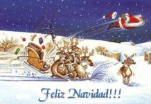 felicitaciones de Navidad graciosas de Santa Claus