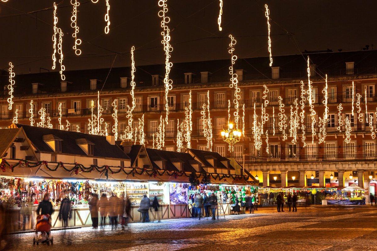 mercadillos de Navidad en España - Madrid