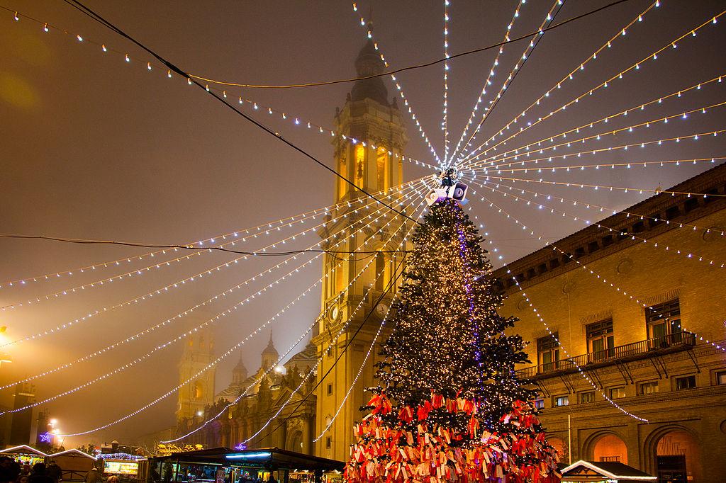 mercadillos de Navidad en España - Zaragoza