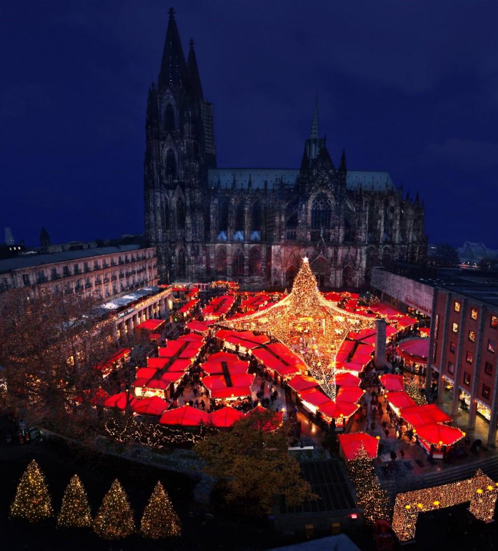 mercadillos navideños alemanes - Colonia