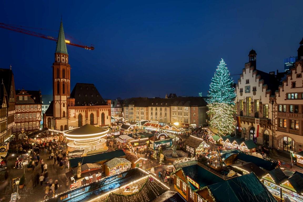 mercadillos navideños alemanes - Frankfurt