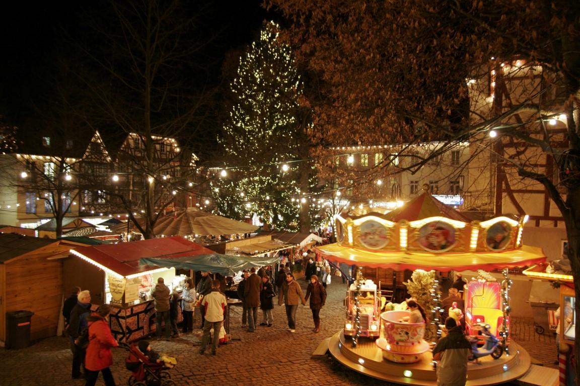 mercadillos navideños alemanes - Düsseldorf