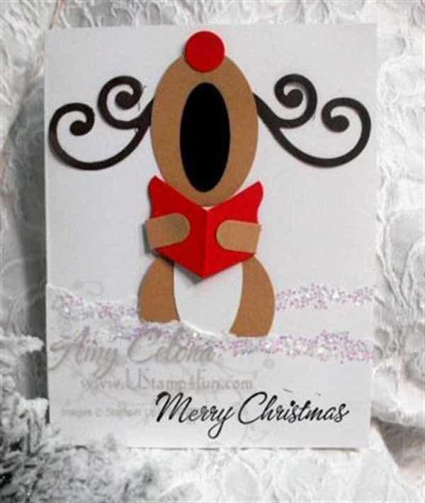Aprende a crear originales felicitaciones de navidad - Targetas de navidad originales ...