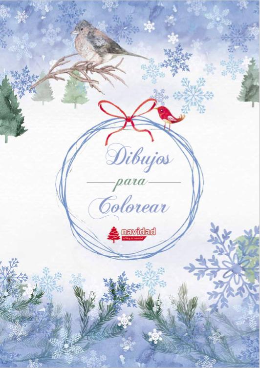 dibujos de navidad para colorear e imprimir