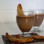 batidos de turrón - de chocolate con almendras