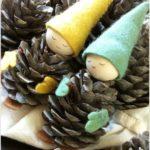 adornos de Navidad caseros - Gnomos durmientes