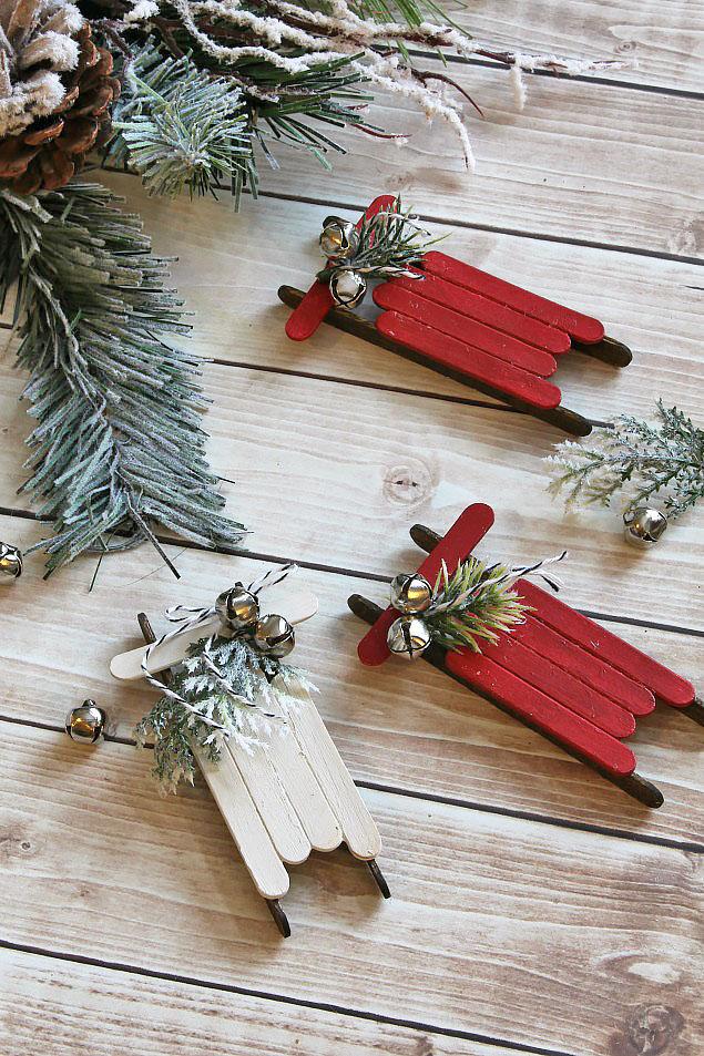 adornos de Navidad caseros - regalos