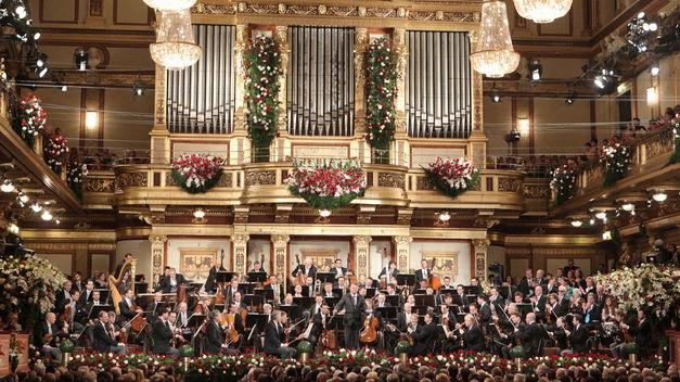 Año Nuevo en el mundo - concierto
