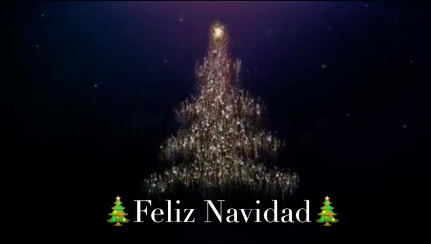 Felicitaciones De Navidad En Castellano.Descarga El Video De La Feliz Navidad Para Enviar Por Whatsapp