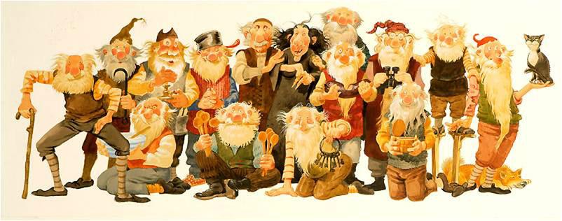 curiosos personajes navideños del mundo