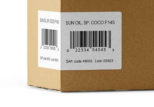 cajas etiquetadas