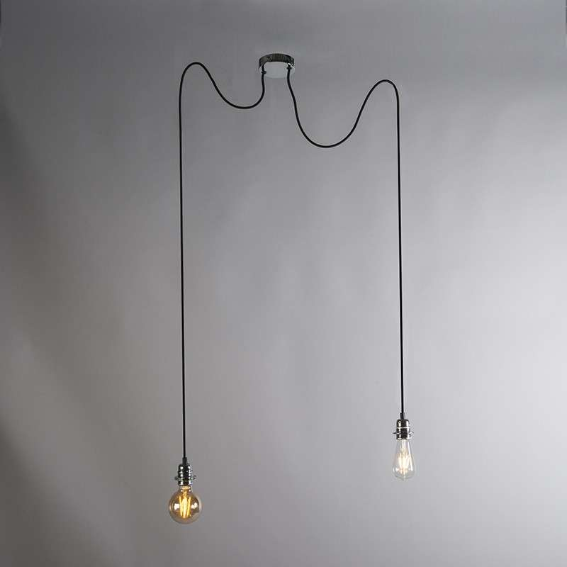 lámpara CAVA 2 cromo