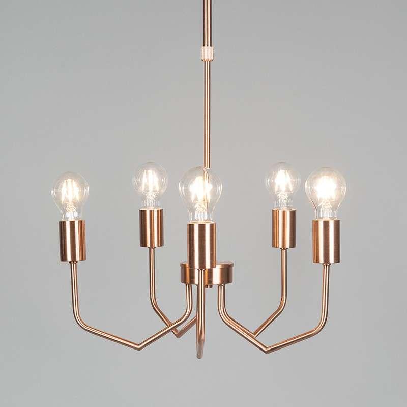 lámpara Ritz cobre 5